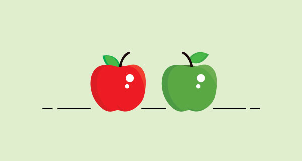green apple meets red apple the perfect payroll provider