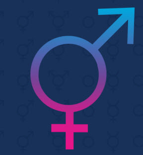 transgender male female symbol