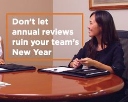 Don't Let Annual Reviews Ruin Your Team's New Year