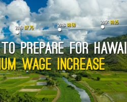 How To Prepare For Hawaii's Minimum Wage Increase