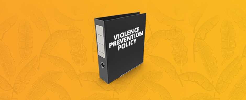 workplace violence provention policy