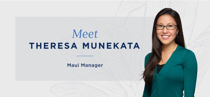 Personnel Spotlight: Meet Theresa Munekata