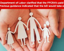 Paid Employee Leave And The Families First Coronavirus Response Act
