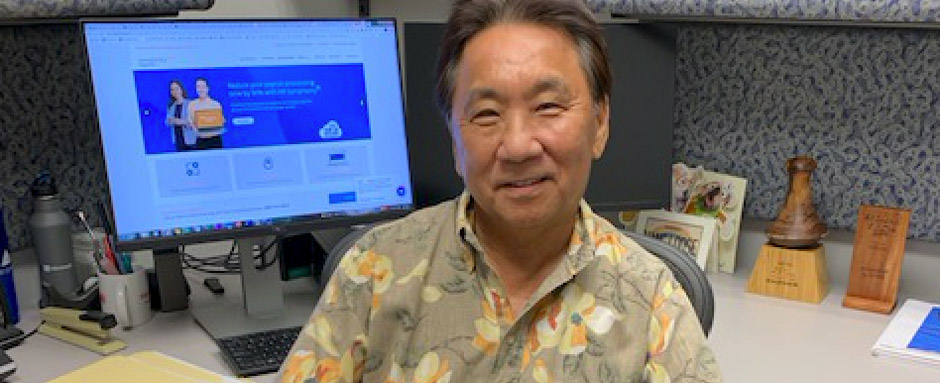 Personnel Spotlight: Meet Jeff Oki